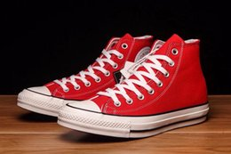 Fashionable Flat Shoes Laces Canada - 2019 The most fashionable red casual shoes on the street, sports shoes, running shoes for men and women EURO 35-44