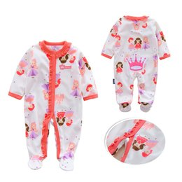 $enCountryForm.capitalKeyWord Australia - Winter Baby Rompers Cotton Baby Girl Clothes Dot Hooded Cartoon Baby Boy Clothes Warm Roupas Bebe Infant Jumpsuits Kids