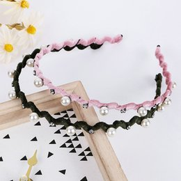 baby hair thinning NZ - Classic Wave Headband Hairband Thin Edge Baby Girl Hair Bands Alice Band Cerchietto Aliceband Hair Cutting Style For Female uuVQd