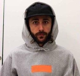 19FW SUP CAIXA Hoodie dos homens LOGO moda de luxo bordado hoodies homem Mulher Designer Marca camisola com capuz tamanho M-XL em Promoiio