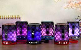 Speaker Blue Tooth Australia - New LED Crystal Light Card Bluetooth Speaker Car Portable Fashion Gift Speaker blue tooth speaker soundbar speakers