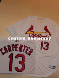 $enCountryForm.capitalKeyWord Canada - Cheap custom MATT CARPENTER SEWN Baseball Jersey WHITE New Stitched Customize any name number MEN WOMEN BASEBALL JERSEY XS-5XL