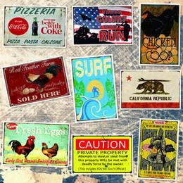 $enCountryForm.capitalKeyWord Australia - California Republic Caution Chicken Coop Surf Fresh Eggs America Win Tin Sign Vintage Metal Signs Home Bar Cafe Wall Garage Decor Poster Art