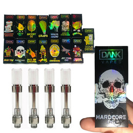 Design packaging box online shopping - Dank Vapes Cartridge Packaging with Holographic Box D Design Thread ml Carts Thick Oil Cartridges Vaporizer Hologram Dank Vape Carts