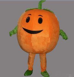 Adult Size Pumpkin Costume Australia - 2019 High quality hot Cute Pumpkin Adult Size Mascot Costume Fancy Birthday Party Dress Halloween Carnivals Costumes