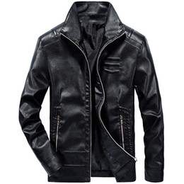 $enCountryForm.capitalKeyWord Australia - Mens Motorbike Multi Styles Men Street Fashion Rock Band PU Faux Artificial Synthetic Leather Waterproof Fur Thin Clothing Coat Jacket