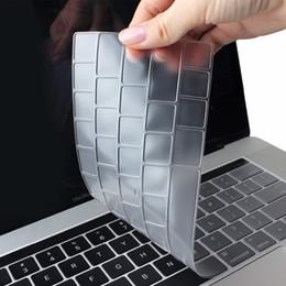 Transparent Macbook Australia - Batianda TPU Transparent Clear Keyboard Cover Skin Sticker for Macbook Air Pro Retina 11 12 13 15 inch US version A1932 A1466
