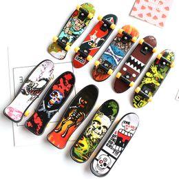 fingerboards skate 2019 - Mini Finger Skateboard Fingerboard Toy Kid Finger Sport Scooter Skate Party Favors Educational Gift Toys Free DHL 01160