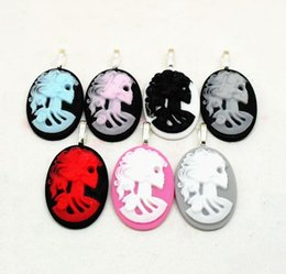 Chinese  Wholesale 10pcs lot FUNKY LARGE SKELETON CAMEO PENDANTS GOTHIC EMO PUNK SKULL VINTAGE STEAMPUNK Charms Pendants Jewelry Making DIY manufacturers
