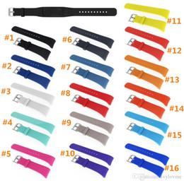 $enCountryForm.capitalKeyWord Australia - DHL Silicone Sport Band for Samsung Gear Fit 2 SM-R360 Fitness Band Wearable Rubber Bracelet Wrist Strap R360