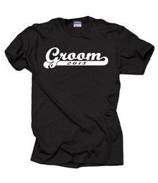 $enCountryForm.capitalKeyWord Australia - Groom 2015 T-shirt Wedding Gift For Groom Tshirt Wedding T-shirtMens 2018 fashion Brand T Shirt O-Neck 100%cotton