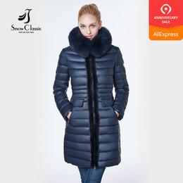 Mink Long Jacket Australia - jacket women 2018 camperas mujer abrigo invierno coat women park Mink predecessor fox fur hat European design slim long warm