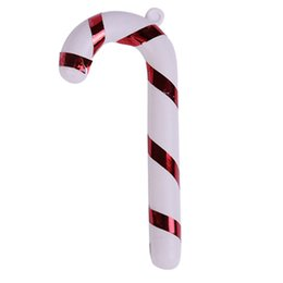 cane christmas decoration Canada - 100 Pcs Christmas TREE Hanging Candy Cane Ornaments Festival Party Xmas Tree Decoration Christmas Decoration Supplies