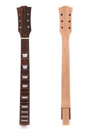 Guitar One Piece Neck Australia - Guitar Neck 22 Fret One Piece Mahogany Rosewood For LP Electric Guitar #US5