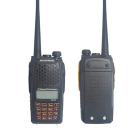 Wholesale Hot sale Baofeng UV R Two Way Transceiver high Power W Portable walkie talkie Dual Band Two Way CB Radio Station Communicator