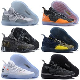 5a0f5feb33de Hot 2019 Kevin Durant KD 11 Multi-Color KD11 11S Numbers BHM Igloo Men  Anniversary University Basketball Shoes X Elite Mid Sport Sneakers