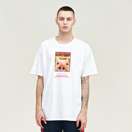 White Shorts Australia - Design Shirt Short Sleeve T-shirt New Cotton Loose Short Sleeve Black and White Large Size Young Students Korean Edition Short Sleeve