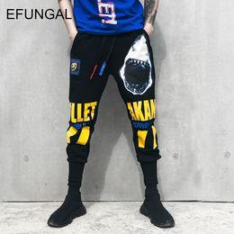 Track Joggers NZ - EFUNGAL 3d Pattern Print Track Pants 2018 Winter Thick Men Sweat Pants Fleece Fashion Harajuku Joggers Male Casual Trousers FD38