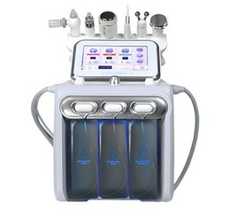 spa microdermabrasion machines Australia - Big Pump! 6in1 Aqua Hydra Facial Water Dermabrasion H2 O2 Oxygen Spray RF Bio Lifting Spa Facial skin Microdermabrasion deep Clean machine