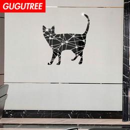 $enCountryForm.capitalKeyWord Australia - Decorate Home 3D cats animal cartoon mirror art wall sticker decoration Decals mural painting Removable Decor Wallpaper G-385