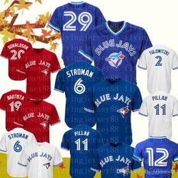 Jays baseball online shopping - Toronto Mens Blue Jays Jersey Joe Carter Marcus Stroman Kevin Pillar Roberto Alomar Jose Bautista Josh Donaldson