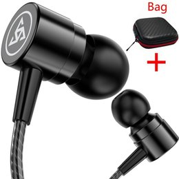 $enCountryForm.capitalKeyWord Australia - Headphones 3.5mm In-ear Headset Universalstereo Earbuds Earphone With Mic For Cell Mobile Phone Mp3 Mp4 Music Headset With Box Lowest price