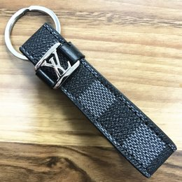 car coin holder NZ - High qualtiy Luxury Keychain Key Chain & Key Ring Holder fashion key chain Porte Clef Gift Men Women Souvenirs Car Bag with box L303