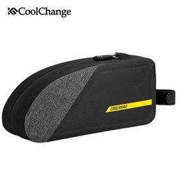 $enCountryForm.capitalKeyWord NZ - CoolChange Cycling Bag Reflective MTB Bike Front Top Tube Bag Water Repellent Outdoor Sports Pannier Pouch Bicycle Accessories #510145