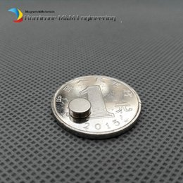 Neodymium Magnet Disc N35 Australia - 200 Pcs Dia. 6x2 Mm Jewery Magnet Ndfeb Disc Magnet Neodymium Permanent Magnets Grade N35 Nicuni Plated Axially Magnetized