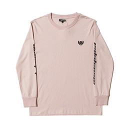 Chinese  Crew Neck Long Sleeve T-Shirts KNAYE WEST Letter Print Calabasas Tshirts Mens Women Hip Hop Streetwear Tees Lovers Loose Tshirts Tops manufacturers