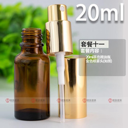 Factory priced perFumes online shopping - Factory Price ml Empty Glass Perfume Bottle Amber Refillable Spray Atomizers Bottles For ml Ejuice Eliquid Per