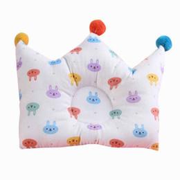 $enCountryForm.capitalKeyWord Australia - Infant Cartoon Pillow Cotton Baby Babies Head Shaping Nursing Pillow Protection From Flat Head Breathable Pillows