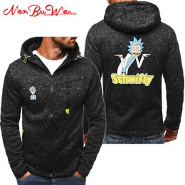 d0e80aea9 Slimming World Free UK - FREE RICK PEACE AMONG WORLDS Hoodies Men Fashion  Personality Zipper Sweatshirt