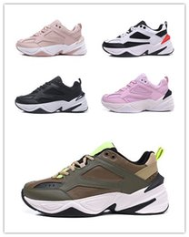 sports shoes green colour Australia - many colours The New M2K trend Tekno men's casual sports shoes 2019 hot 2K women's wild retro travel casual running shoes size 36-45