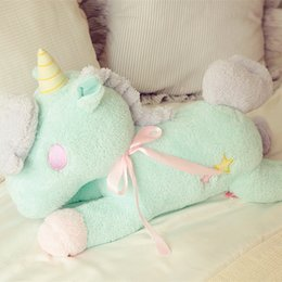 folding pumps Canada - Gemini Plush tissue pumping home series unicorn, unicorn doll pillow, car tissue pumping, birthday gifts, Christmas gifts