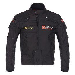 Motorcycle Clothing Jacket Motorbike NZ - DUHAN Men Motocross Off Road Jackets Oxford Warm Clothing Suits Motorcycle Jacket Moto Racing Motorbike Suits Coats Winter