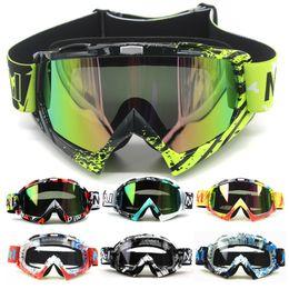 Girls Ski Goggles Australia - Motorcycle Goggles Glasses Oculos Cycling Mx Off Road Helmet Ski Sport Gafas For Motorbike Moto Dirt Bike Racing Goggles