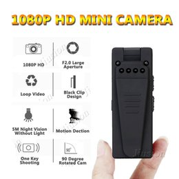 mini digital audio Australia - 10 Hours Video Mini Camera Consumer 1080P Full HD Webcam Night Vision Motion Sensor Digital Audio Recorder DVR Small Micro Cam