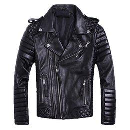 $enCountryForm.capitalKeyWord NZ - DAJANE spring 2019 sheep leather motorcycle suit jacket big yards short autumn winter leather jacket men