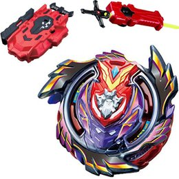 beyblade gyroscope UK - Styles Metal Beyblade Bayblade Burst Launcher Toys Arena Sale Bursting Gyroscope Hobbies Bey Blade Spinning Top For Children