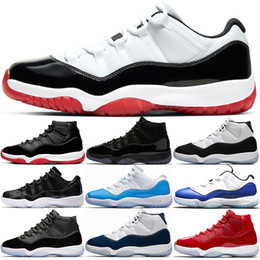 boot like shoes UK - jumpman 11s Basketball Shoes 11 mens women trainers Concord White Bred Metallic Silver Win Like 82 96 cheap Sports Sneakers Size 36-47