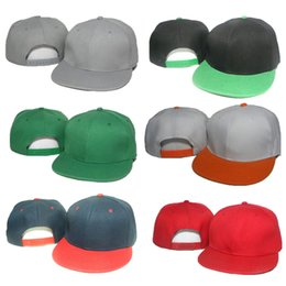 9a844c66 Blank Ball Caps Wholesale Canada - Fashion Blank Plain Snapback Caps Solid  Color Hats Brand Designer