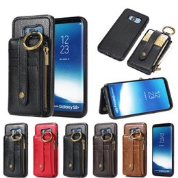 $enCountryForm.capitalKeyWord NZ - Luxury Genuine Leather Separable Back Case Magnetic Stand Wallet Cover For Samsung Note 9 8 S9 S8 plus S7 S6 edge J7 J5 Prime