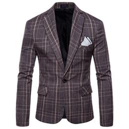 Chinese  2017 New Fashion Casual Men Blazer Cotton Slim Korea Style Suit Blazer Masculino Male Suits Jacket Blazers Men M-4XL manufacturers