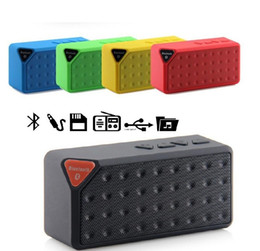 usb radio box Australia - Mini Bluetooth Speaker TF USB FM Radio Wireless Portable Music Sound Box Subwoofer Loudspeakers With Mic For mobile phone pc