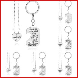 $enCountryForm.capitalKeyWord Australia - there is this girl she stole my love necklace key rings engraving family member pendants for women girls fashion jewelry