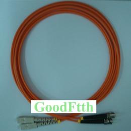 Sc St Fiber Australia - Fiber Patch Cord Jumper Cable SC-ST Multimode 62.5 125 OM1 Duplex GoodFtth 1-15m