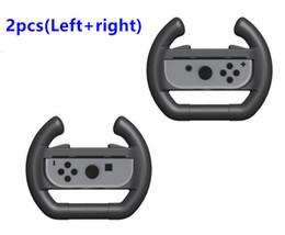 $enCountryForm.capitalKeyWord Australia - Hot sale Nintend Switch Joy-con Steering Wheel Handle for Nintendos Switch NS Controller Accessories Racing Wheel Grip Handle free shipping
