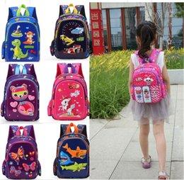 $enCountryForm.capitalKeyWord Australia - Surprise Girls 3D Backpack Kids Unicorn Baby Shark Cartoon Shoulder Bag Kindergarden Book Bag Boys Girls Decompression Schoolbag B71804