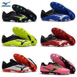 18a1baf9210e35 New 2019 Mizuno Rebula V1 Mens football boots Soccer Shoes cleats BASARA AS  WID Hot predator outdoor futsal sports sneakers shoes size 40-45